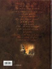Verso de Le livre de... -INT- Les Livres de vie