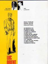 Verso de Luc Orient -14- Le rivage de la fureur
