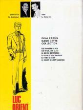 Verso de Luc Orient -4b74- La planète de l'angoisse