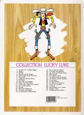 Verso de Lucky Luke -10d06- Alerte aux Pieds-Bleus