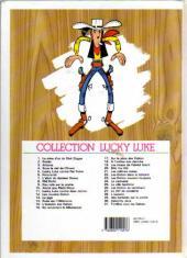 Verso de Lucky Luke -17d99- Sur la piste des Dalton