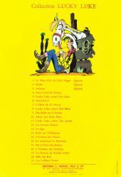 Verso de Lucky Luke -19a1964- Les rivaux de Painful Gulch