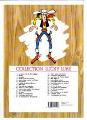 Verso de Lucky Luke -20ES- Billy the Kid