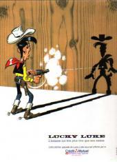 Verso de Lucky Luke (Pub et Pastiches) -39Crédit Mut- Chasseur de primes