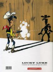 Verso de Lucky Luke -46Ind- Le Fil qui chante