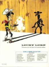Verso de Lucky Luke -53a89- Le daily Star