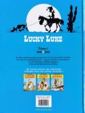 Verso de Lucky Luke (Intégrale Dupuis/Dargaud) -1b08- Volume 1 - (1946-1949)