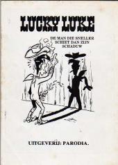 Verso de Lucky Luke (parodie en néerlandais) -Ned- Nog meer sex avonturen van Lucky Luke