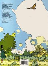 Verso de La malédiction des sept boules vertes -1- Le voyageur imprudent