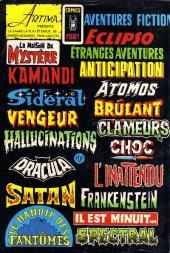 Verso de Le manoir des fantômes (1re série - Arédit - Comics Pocket)  -4- Le mort veille