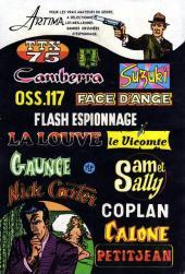 Verso de Le manoir des fantômes (1re série - Arédit - Comics Pocket)  -2- La potence des spectres