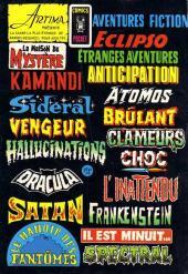 Verso de Le manoir des fantômes (1re série - Arédit - Comics Pocket)  -3- L'or maudit