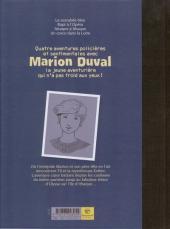 Verso de Marion Duval -INT- L'aventure cœur battant