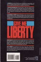 Verso de Give me Liberty (1990) -INT- Give me Liberty - An American Dream