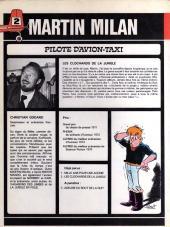 Verso de Martin Milan (2e Série) -2'- Les clochards de la jungle