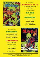 Verso de Marvel -9- Marvel 9