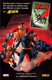 Verso de Marvel Icons (Marvel France - 2005) -43'- Isla de la muerte