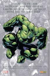Verso de Marvel (Les incontournables) -8- Hulk