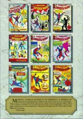 Verso de Marvel Masterworks (1987) -1- The amazing Spider-Man n° 1-10 & amazing fantasy n° 15