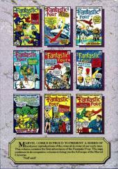 Verso de Marvel Masterworks (1987) -2- The Fantastic Four n° 1-10