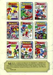 Verso de Marvel Masterworks (1987) -4- The Avengers n° 1-10