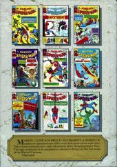 Verso de Marvel Masterworks (1987) -5- The Amazing Spider-Man n° 11-20