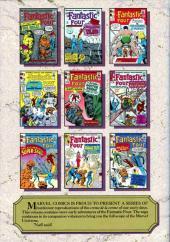 Verso de Marvel Masterworks (1987) -6- The Fantastic Four n° 11-20