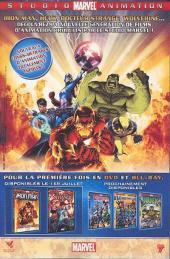 Verso de Marvel Saga (1re série - 2009) -2- Secret invasion