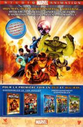 Verso de Marvel Universe Hors Série (Panini - 2008) -4- Vengeurs/Envahisseurs (2)