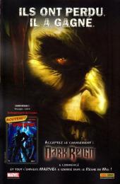 Verso de Marvel Universe Hors Série (Panini - 2008) -5- Vengeurs/Envahisseurs (3)