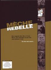 Verso de Mèche rebelle -1HC- Kim