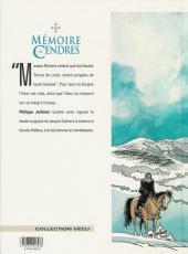 Verso de Mémoire de Cendres -3- Rémy d'Orient