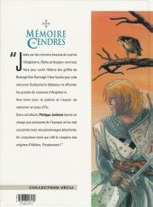 Verso de Mémoire de Cendres -5- La danse des géants
