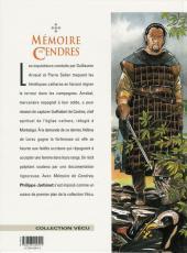 Verso de Mémoire de Cendres -6- Montségur