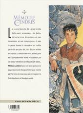Verso de Mémoire de Cendres -9- Leila