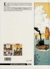 Verso de Mémoires d'un aventurier -2- Ariane