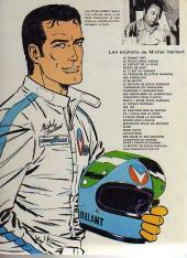 Verso de Michel Vaillant -4d1975'- Route de nuit