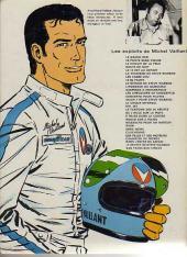 Verso de Michel Vaillant -6c1978'- La trahison de Steve Warson