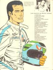 Verso de Michel Vaillant -8e- Le 8e pilote