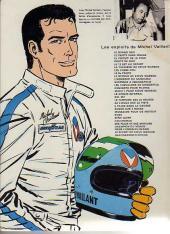 Verso de Michel Vaillant -9b1976'- Le retour de Steve Warson