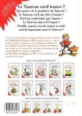 Verso de Le mini-guide -2- Le mini-guide du Taureau