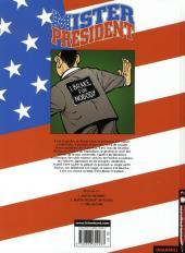Verso de Mister President -3- Time Machine