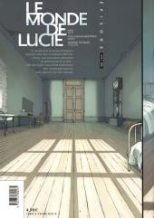 Verso de Le monde de Lucie -1- Épisode 1/18