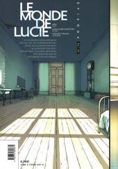 Verso de Le monde de Lucie -2- Épisode 2/18