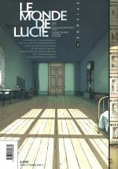 Verso de Le monde de Lucie -3- Épisode 3/18