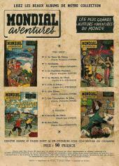 Verso de Mondial aventures -8- Le roi des Montagnes
