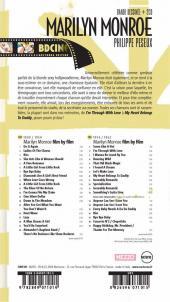 Verso de BD Ciné -1- Marilyn Monroe