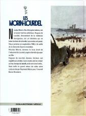 Verso de Les morin-Lourdel -3- La guerre entre parenthèses