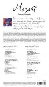 Verso de BD Classique -7- Mozart