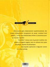Verso de Outsiders (Rivière/Miniac) -2- Créatures de cauchemar